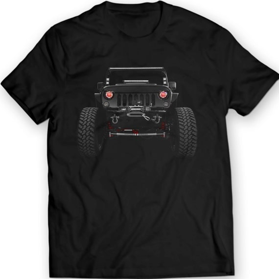 American Jeep Wrangler T Shirts 2014 Ladies Mens Tees 100