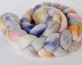 One of A Kind Speckled BFL Roving
