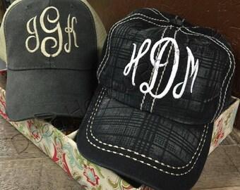 Monogramed Hat