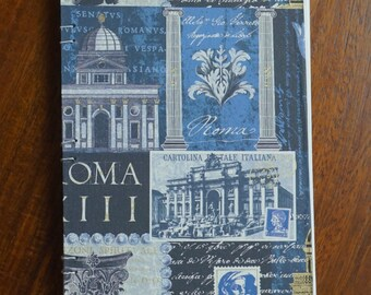 Rome Travel Journal, Blank Travel Journal