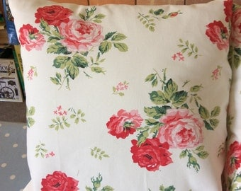 Cath Kidston fabric tie back cushion covers