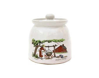 Bean Pot with Eric Sloane Illustration
