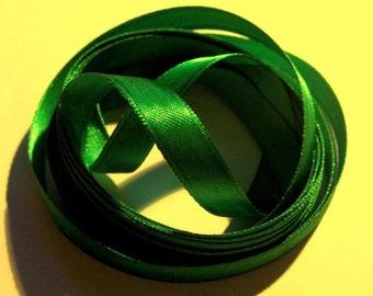 Green Satin Ribbon, Green 10mm, 10mm Ribbon, Green Ribbon, Green Ribbon Bundle, Ribbon Supplies, Quality Ribbon, Satin Ribbon, Green Satin,