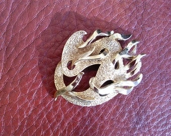 Beautiful unusual brooch