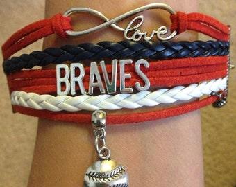 Atlanta Braves Bracelet