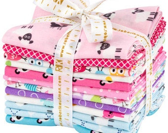 Urban Zoologie Minis Spring Colorstory Fat Quarter Bundle ONLY 2 left! by Anne Kelle for Robert Kaufman fabric