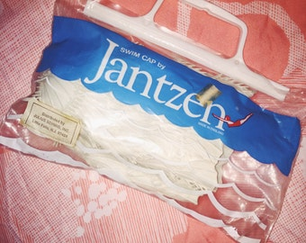 1960s Jantzen Swim Cap in Original Packaging