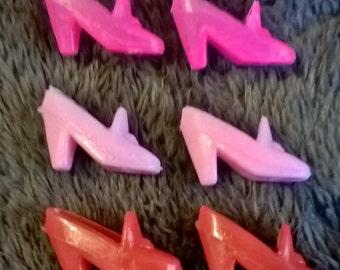 Vintage 1970's Barbie granny style heels