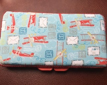 Airplanes travel baby wipe case