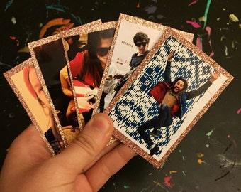 Band Trading Cards - pink