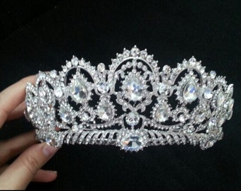 Wedding Bridal Quinceanera Crystal Tiara
