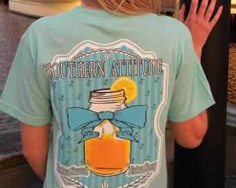 Southern Attitude Sweet Tea Extra Sweet Extra Sassy Short Sleeve Unisex T Shirt
