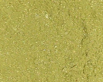 Key Lime Eye Candy Mineral Eyeshadow Green Vegan Mineral Makeup Eye Makeup Pigments