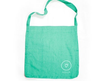 Ninus – With Love, Hand-printed Sling Bag using eco-friendly materials.