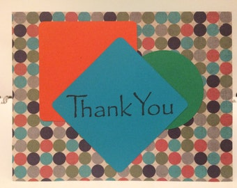 Thank You Card - Geometric 1