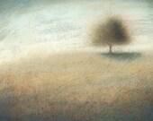 Turning Autumnal - Framed Original Acrylic Landscape Tree Painting