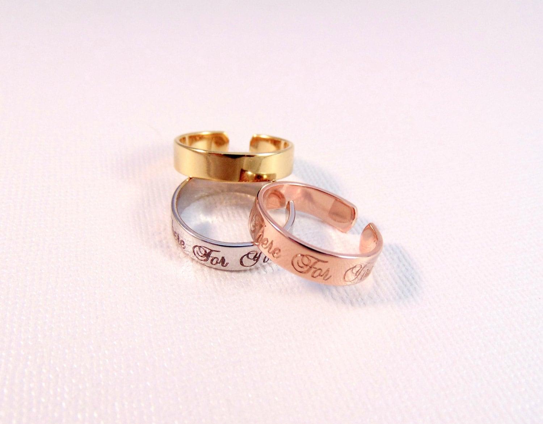 custom name ring stackable engraved ring adjustable mother. Black Bedroom Furniture Sets. Home Design Ideas