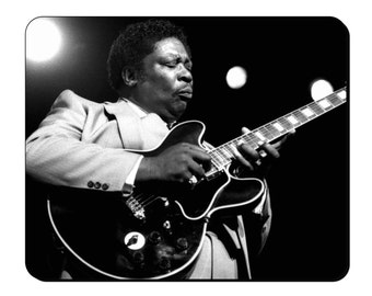 Mouse Mat - BB King - Legends of Music Mouse Pad LM104