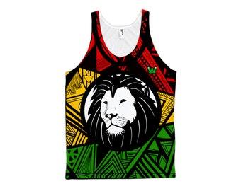 Rasta Lion Tank