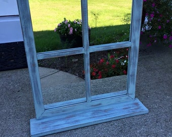 Chalk Painted Mirror