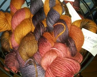 Hand Dyed Alpaca Yarn - Paca-Paints 410 Marti Gras - 100% Superfine Alpaca