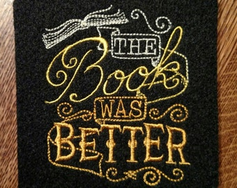The Book was Better Coasters (set of 4)