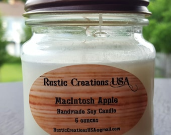 MacIntosh Apple - Premium Soy Candle