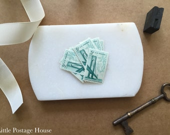 Verrazano-Narrows Bridge Stamps | 10 Unused Vintage Postage Stamps | 5 Cents | 1964