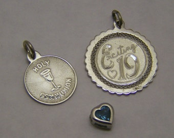 3 Sterling Silver Charm Pendant