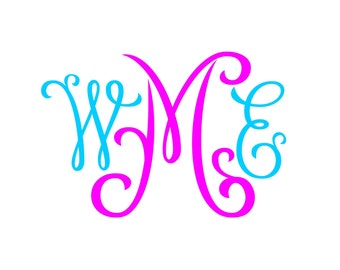 Monogram SVG  Font No. 03
