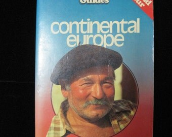 Continental Europe, Insight Guides, 1984, Vintage