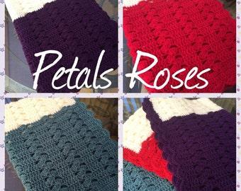 Sea Shells Blanket Crochet Pattern