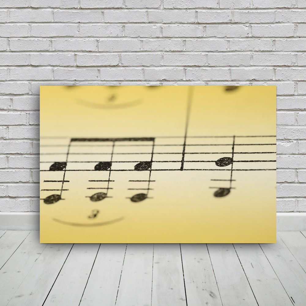 musical notes photo 24x16inphoto digital