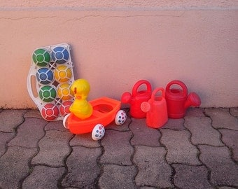 Beach plastic toys made in France