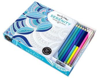Serenity Vive Le Color!  Coloring Book & Pencils