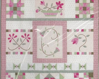 Joann Fabrics Quilt Block Of The Month - Garden Impressions Quilt