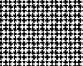 Sew Bee It 6646-9 - Check - Black & White by Shelly Comiskey of Simply Shelly Designs for Henry Glass