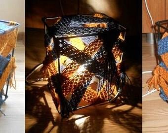 Decorative Macrame Night Light