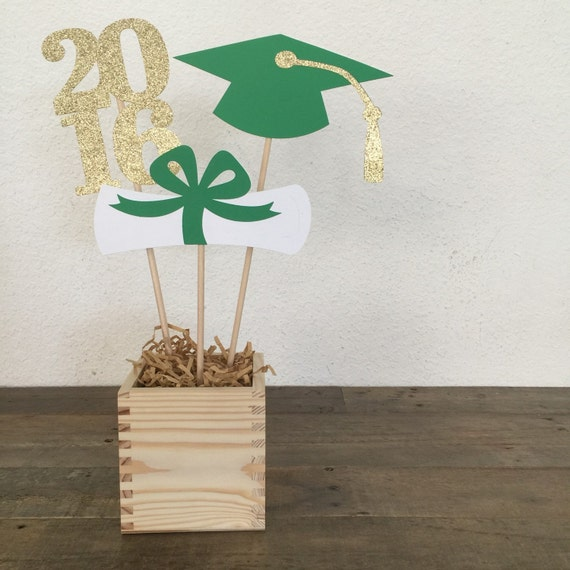 Items similar to graduation table centerpiece sticks