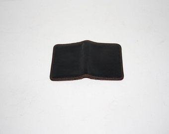 Vintage BillFold/Genuine leather wallet/1970's/Dal leather wallet