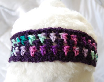 Fun Purple Baby Headband