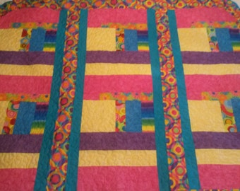 Baby Quilt - Bright & Cheery