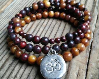 Authentic 108 bead Mala bracelet