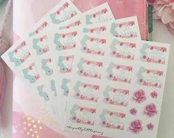 Pregnancy Countdown Stickers