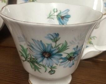 Beautiful Vintage Candle Teacup