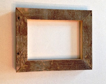 5 x 7 Vermont Barn Wood Picture Frame, 10 pcs