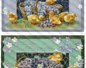 Easter Images #3 - Printable Digital Collage Sheets 5-Pack - Instant JPEG Downloads
