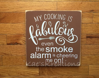 Kitchen.. Cooking/ wood sign