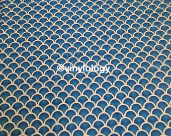 Mermaid Scales 651 Adhesive Vinyl