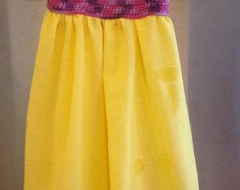 Crochet Toddler Sundress